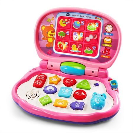 Vtech Language Laptop - VTech Brilliant Baby Laptop - Pink