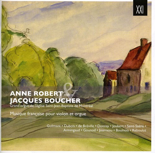 Robert, Anne Boucher, Jacques Musique Francaise Pour Vln Org [CD] by
