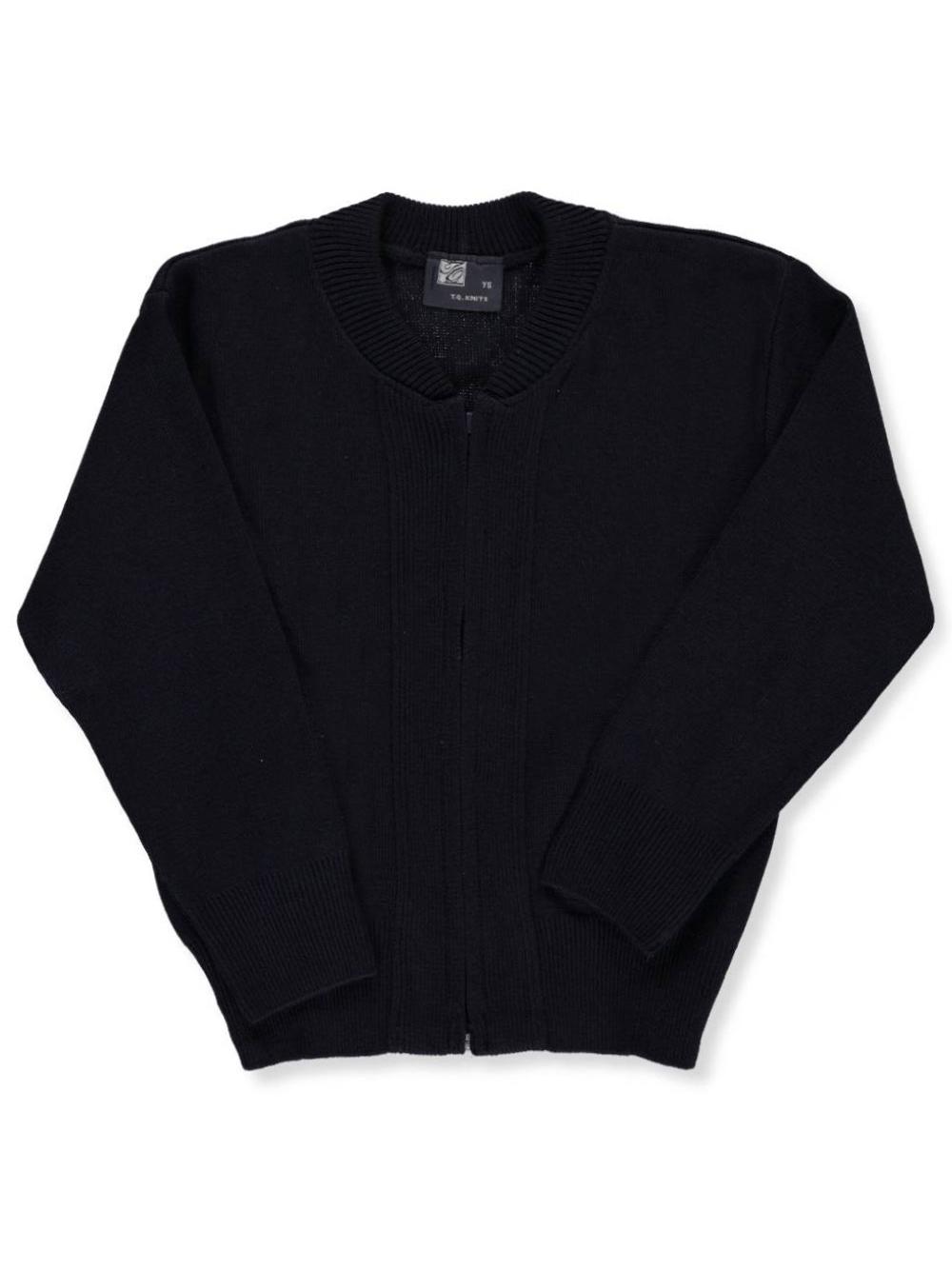 "T.Q. Knits Big Boys' ""Ivy"" Zip-Up Sweater (Sizes 8 - 18)"