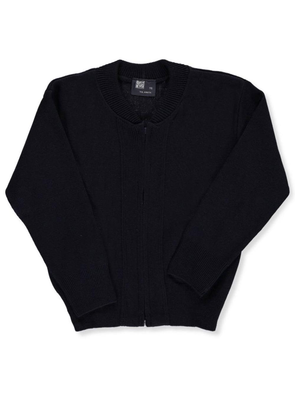 "Big Boys' ""Ivy"" Zip-Up Sweater (Sizes 8 - 18)"