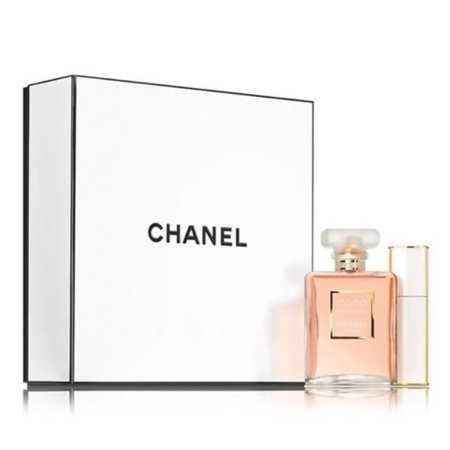 21a73f3b94f1cd CHANEL - CHANEL COCO MADEMOISELLE Eau de Parfum Travel Spray Gift Set -  Walmart.com