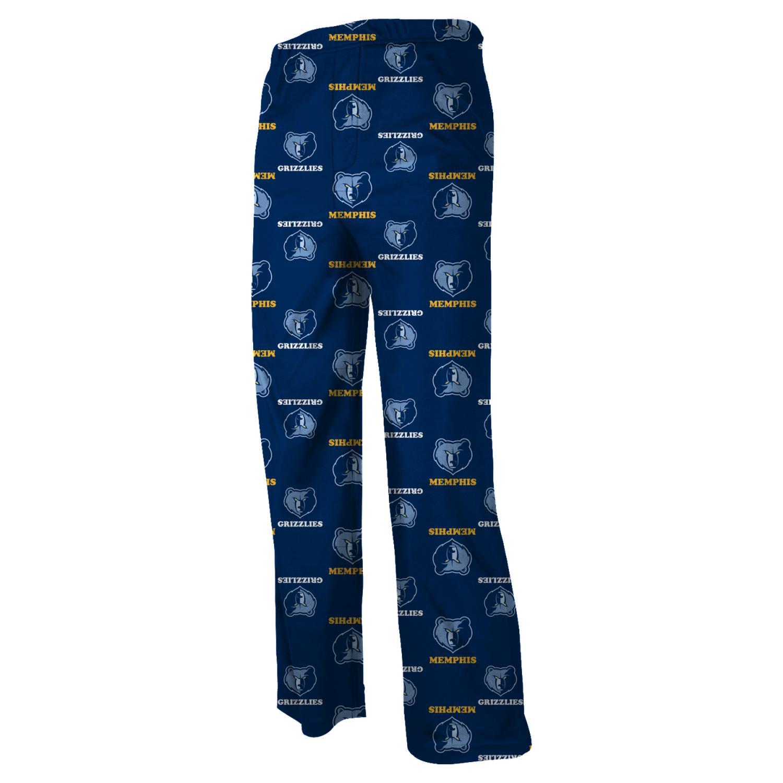Memphis Grizzlies Youth NBA Team Logo Pajama Pants