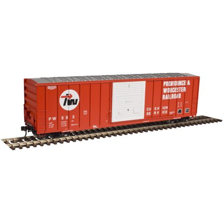 Atlas Ho Scale Fmc 5347 Single Door Boxcar Providence And Worcester P  437