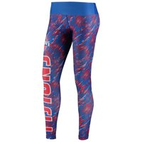 Detroit Pistons Women's Static Rain Leggings - Blue