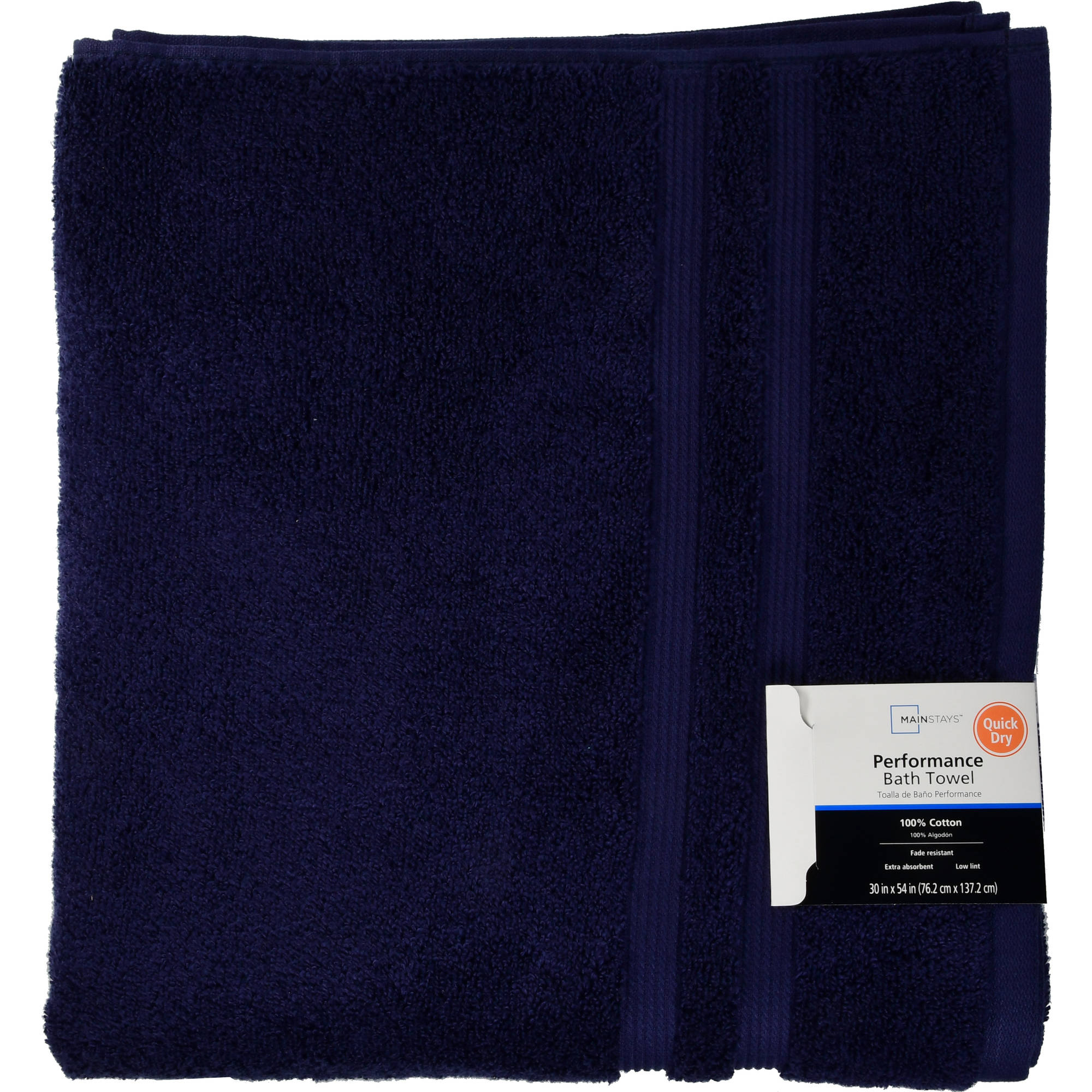 Mainstays Ms Performance Bath Towel by