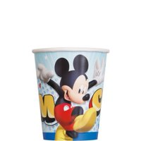 Unique Disney Mickey Roadster Party Paper Cups, 8 Ct.