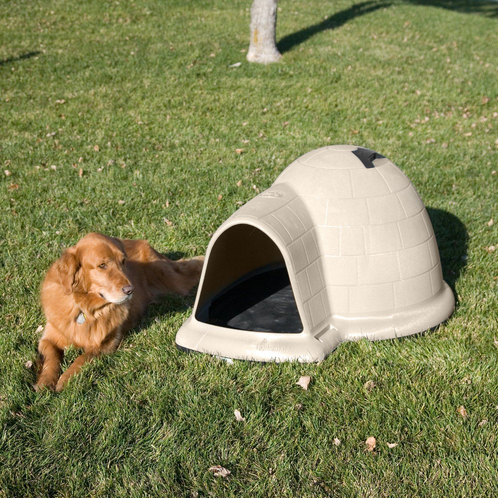 Doskocil Petmate Indigo Dog House with Pad ; Door