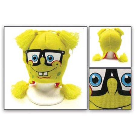 Laplander Beanie Cap - Spongebob Square Pants - New Glasses Hat kc152669spo - Spongebob Hat
