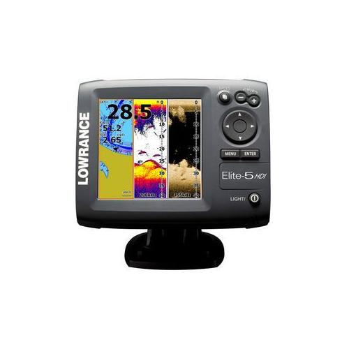 how to use lowrance elite 7 hdi