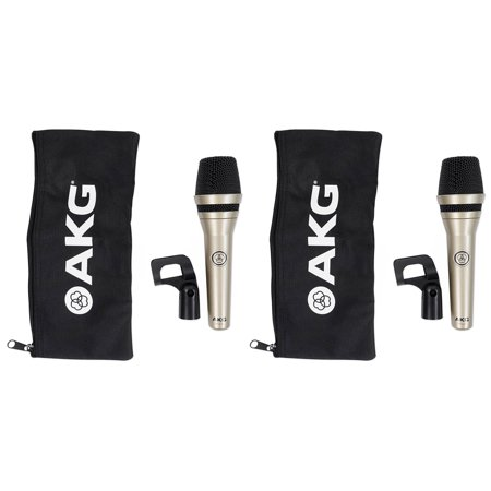 (2) AKG D5 LX Handheld Live Sound Vocal Microphones Dynamic Supercardioid