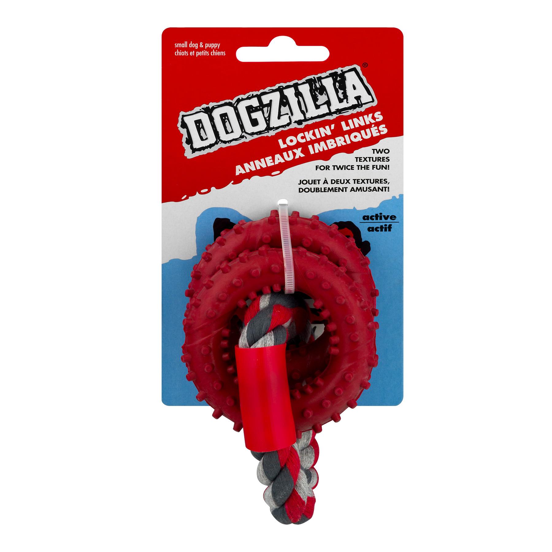 Dogzilla Lockin' Links Small Dog & Puppy, 1.0 CT