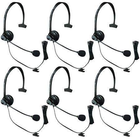 Panasonic KX-TCA60 Over The Head Headset w/ Noise