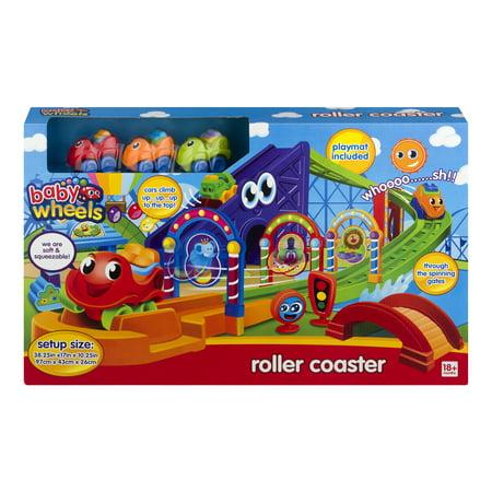 Pavlovz Toyz My First Roller Coaster Playset - 24pc