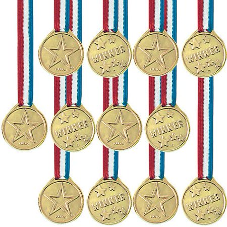 Award Medal Ribbons 12ct, By Factory Card and Party Outlet