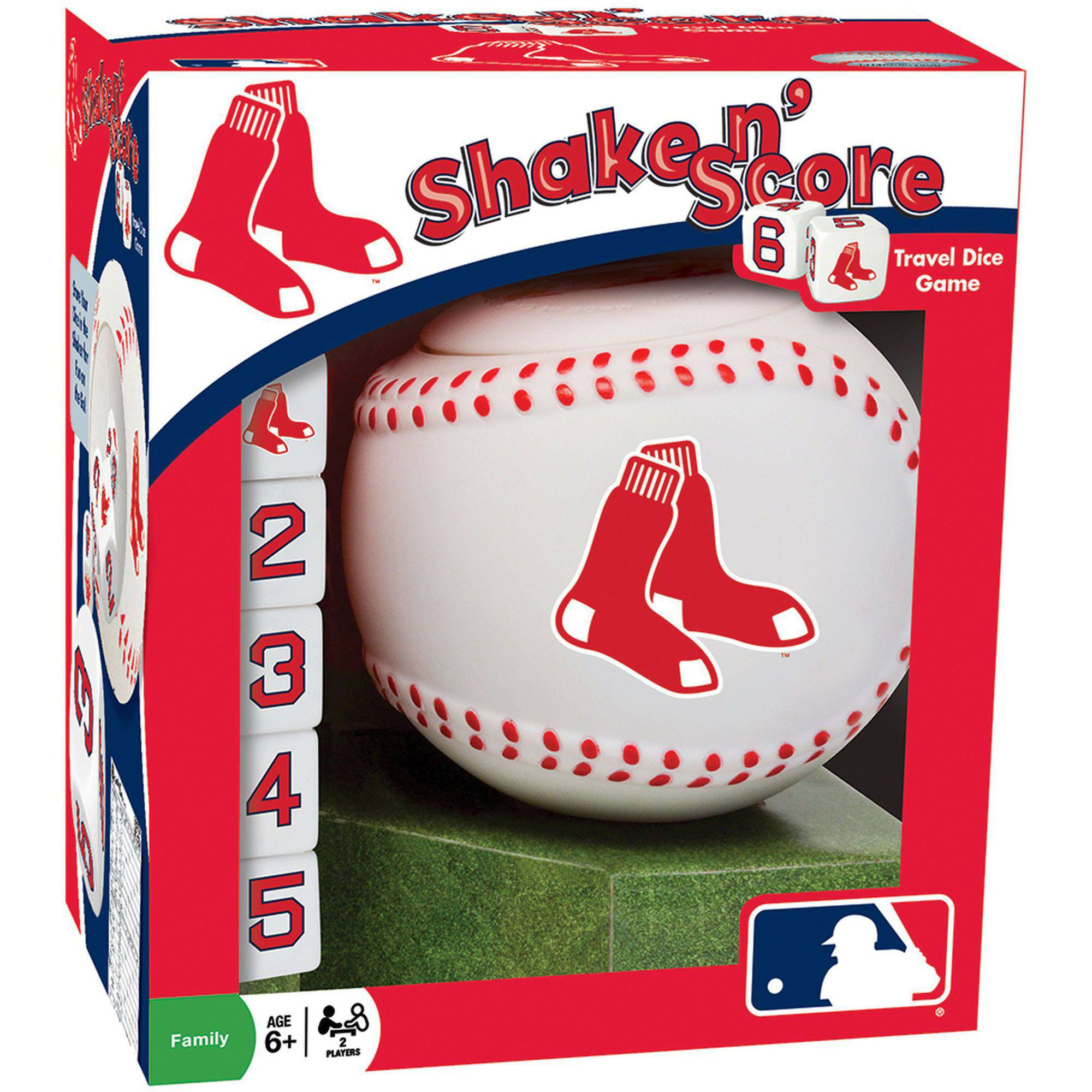 MasterPieces MLB Boston Red Sox Shake n' Score Dice Game