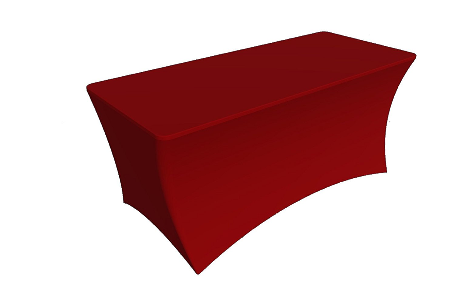 Sy66 Tablecloth Cover 6 Ft Whitetable Cloth Skirts Rectangular Polyester