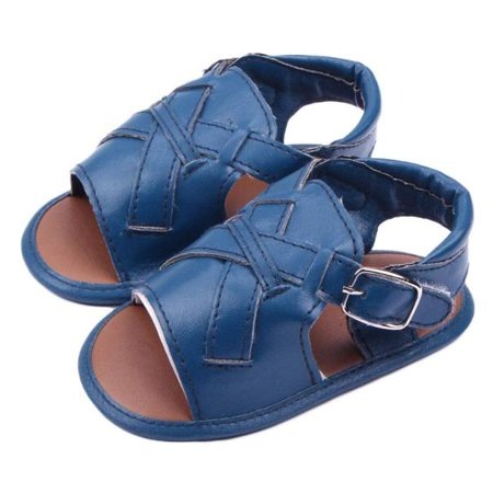 First Scrubs (Outtop Baby Boys Sandals Toddler Scrub First Walkers Kid Shoes BU)