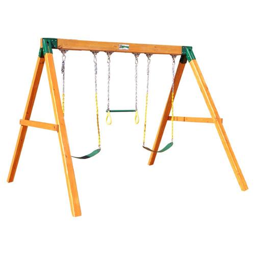 Gorilla Playsets Free Standing Swing Set Walmart Com