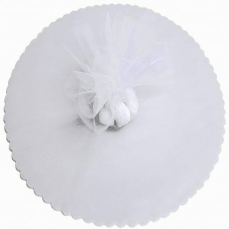 50 Scalloped Tulle Circles 9