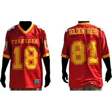premium selection 5d5b3 1b13a Tuskegee S6 Mens Football Jersey [Crimson Red - XL]