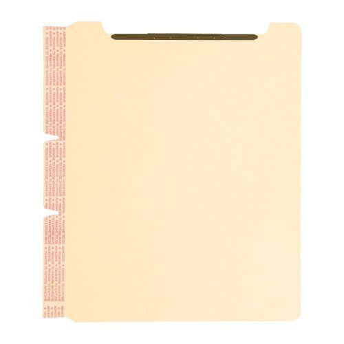 Smead 68027 Manila Self-adhesive Folder Dividers With Twin