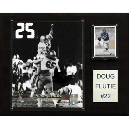 C&I Collectables NCAA Football 12x15 Doug Flutie Boston College Eagles Player Plaque Doug Flutie Nfl