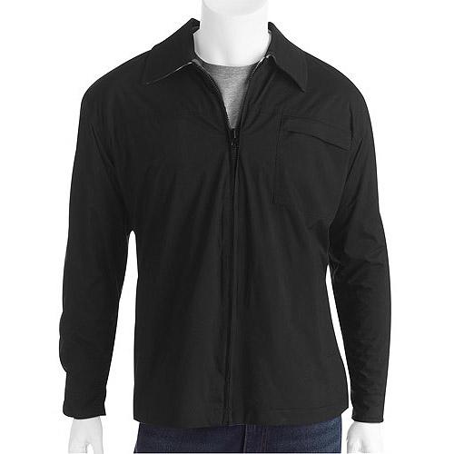 Generic Men's Reversible Fleece Nylon Jacket Wit
