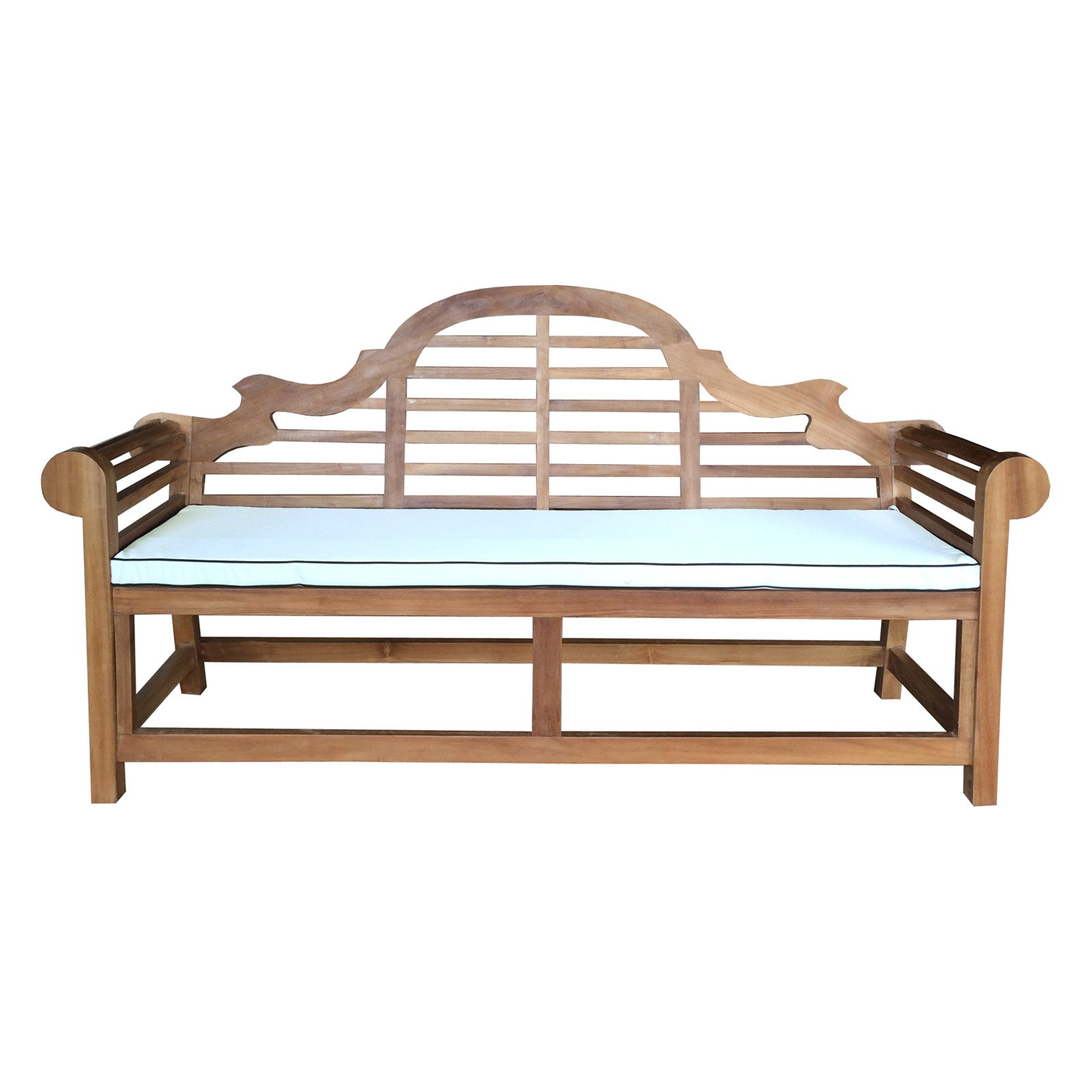 Chic Teak Lutyens Outdoor Bench Cushion by