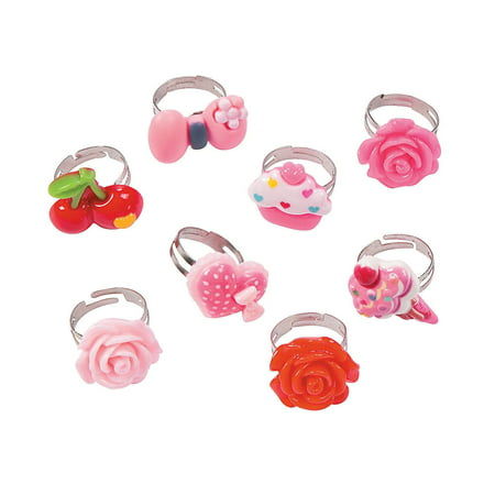 Fun Express - Assorted Fashion Rings - Jewelry - Jewelry General - Rings - 48 Pieces Assorted Fashion Rings - Jewelry - Jewelry General - Rings - 48 Pieces
