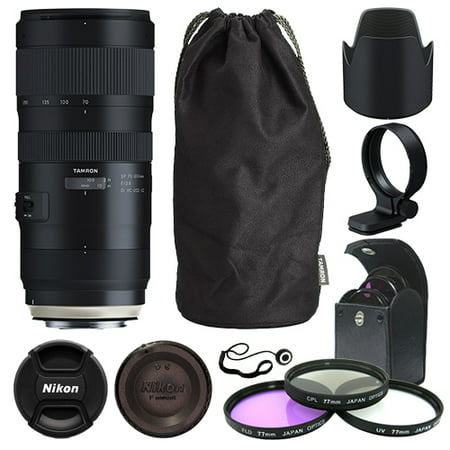 Tamron SP 70-200mm f/2.8 Di VC USD G2 Lens for Canon EF + Deluxe Accessory Kit ()