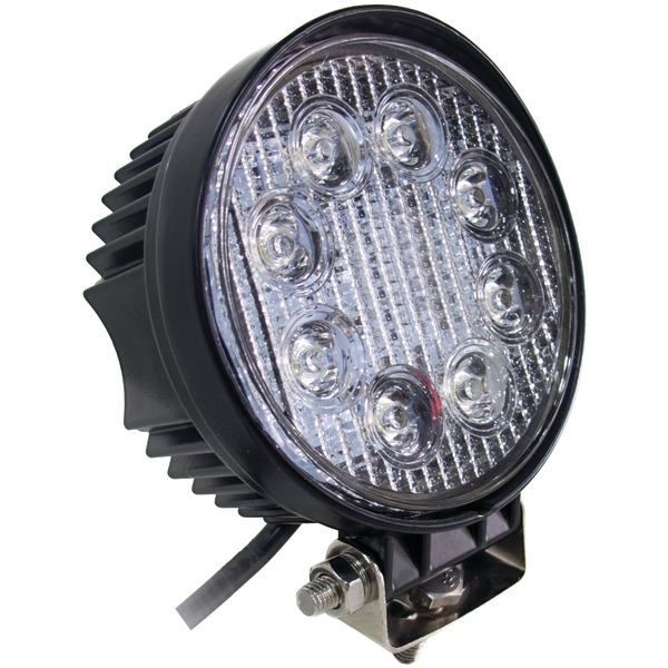 "Brand New RACE SPORT RS-24W-R Street Series 4"" Round 24-Watt 1,560-Lumen LED Work Spotlight"