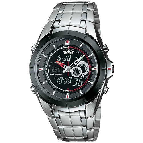 Casio Men's Twin Chronograph Thermometer Watch