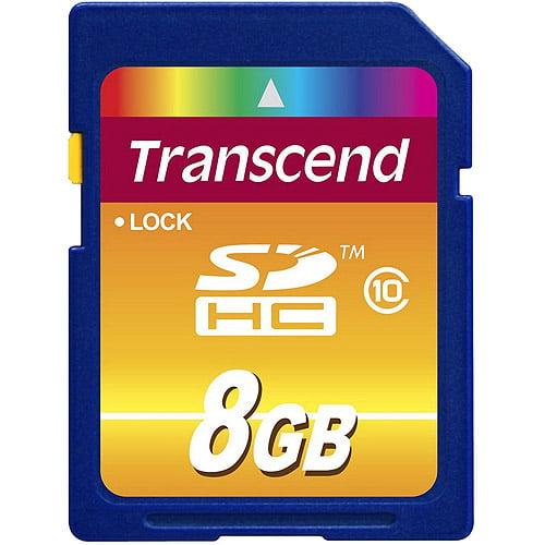 Transcend 8GB Secure Digital High Capacity Card