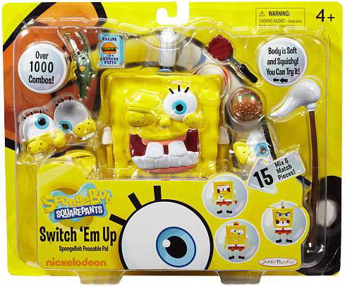 Spongebob Squarepants Switch 'Em Up Playset by