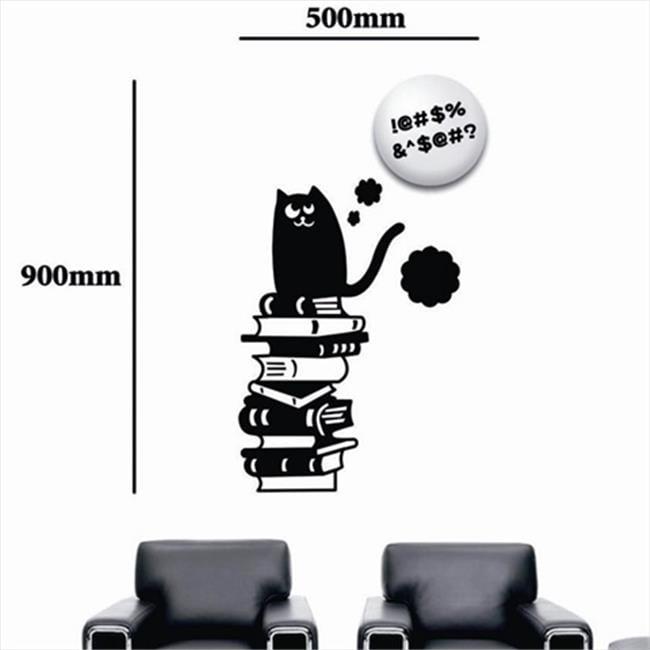 Wall Sticker Lamp Smart Cat LED Lamp