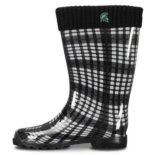 NCAA - Michigan State Spartans Women's Rain Boots