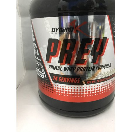 Dynamik Muscle Prey Vicious Vanilla Cheesecake 74 servings For Fast And Efficient Muscle