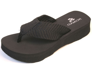 Nomad Pancho Sandal Black by Nomad