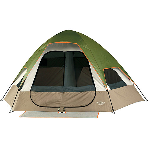 Wenzel Big Bend Green and Light Gray 6-Person Tent , 12' x 10'