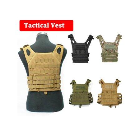 Military Armor Army JPC Vests Combat Tactical Vest Molle Plate Carrier Men (Compact Plate Carrier)
