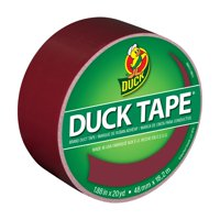 Duck Brand Color Duct Tape, 1.88 in. x 20 yd., Merlot