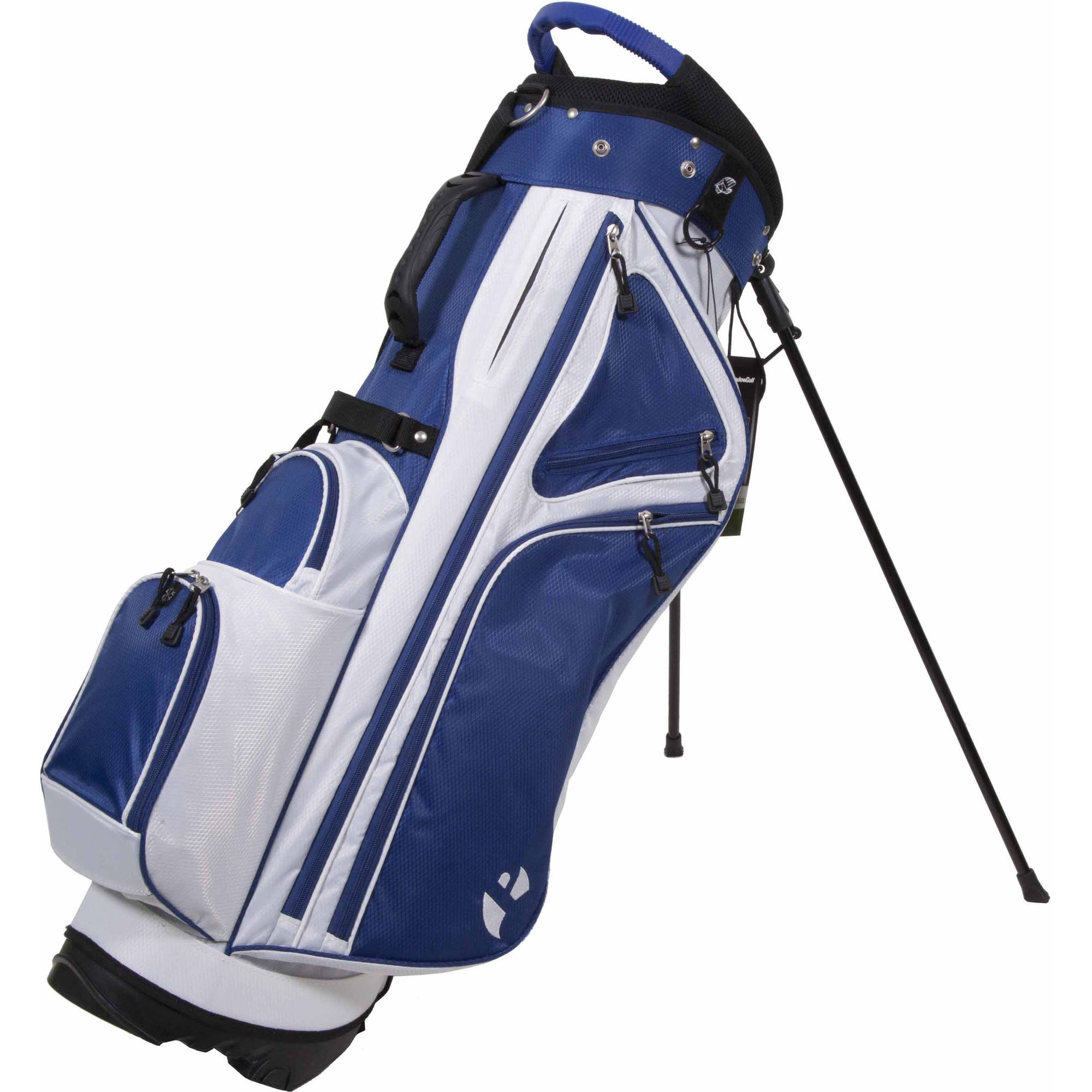 Courier 3.0 Stand Bag, Blue/White