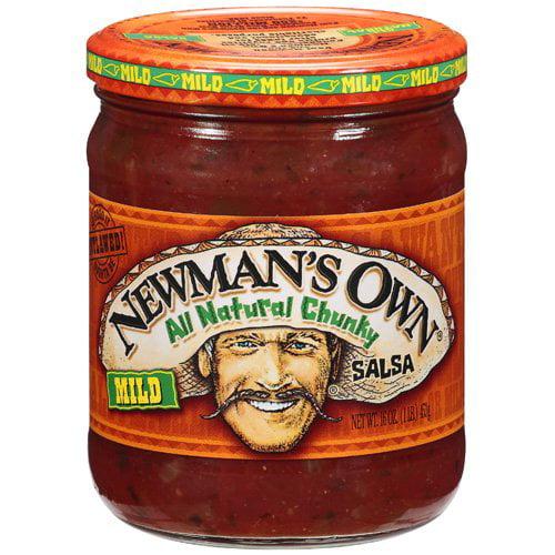 Newman's Own: Mild All Natural Chunky Salsa, 16 oz