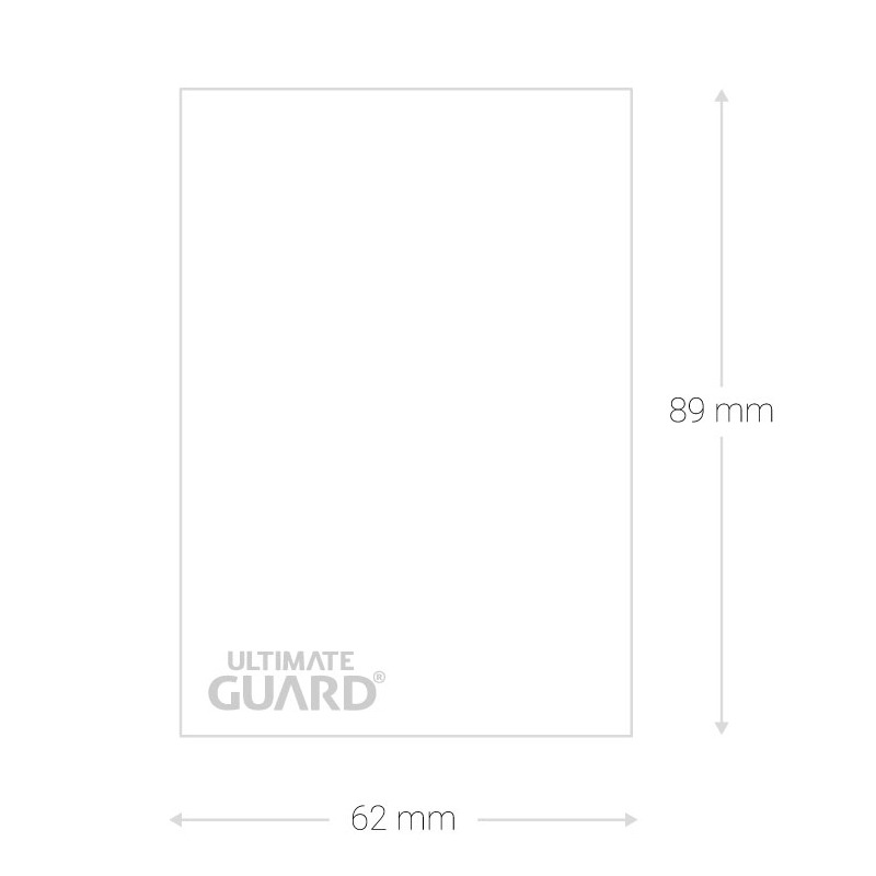 Ultimate Guard SUPREME UX Japanese Size Card Sleeves Matte SAND 60