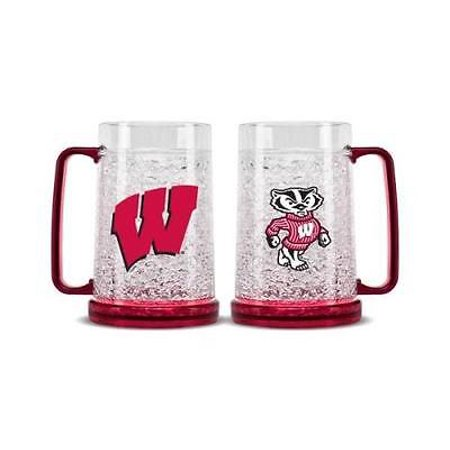 9413159421 Wisconsin Badgers Crystal Freezer Mug