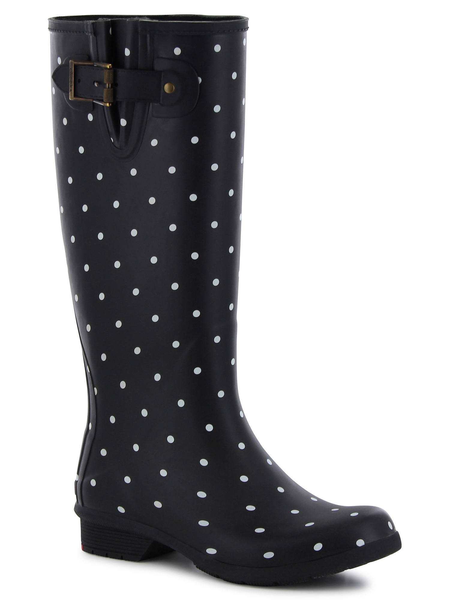 Women's Dot Blanc Tall Boot