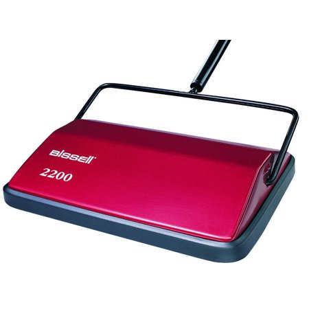 Floor Sweep (Bissell Swift Sweep Carpet Floor Sweeper, Steel, Red)
