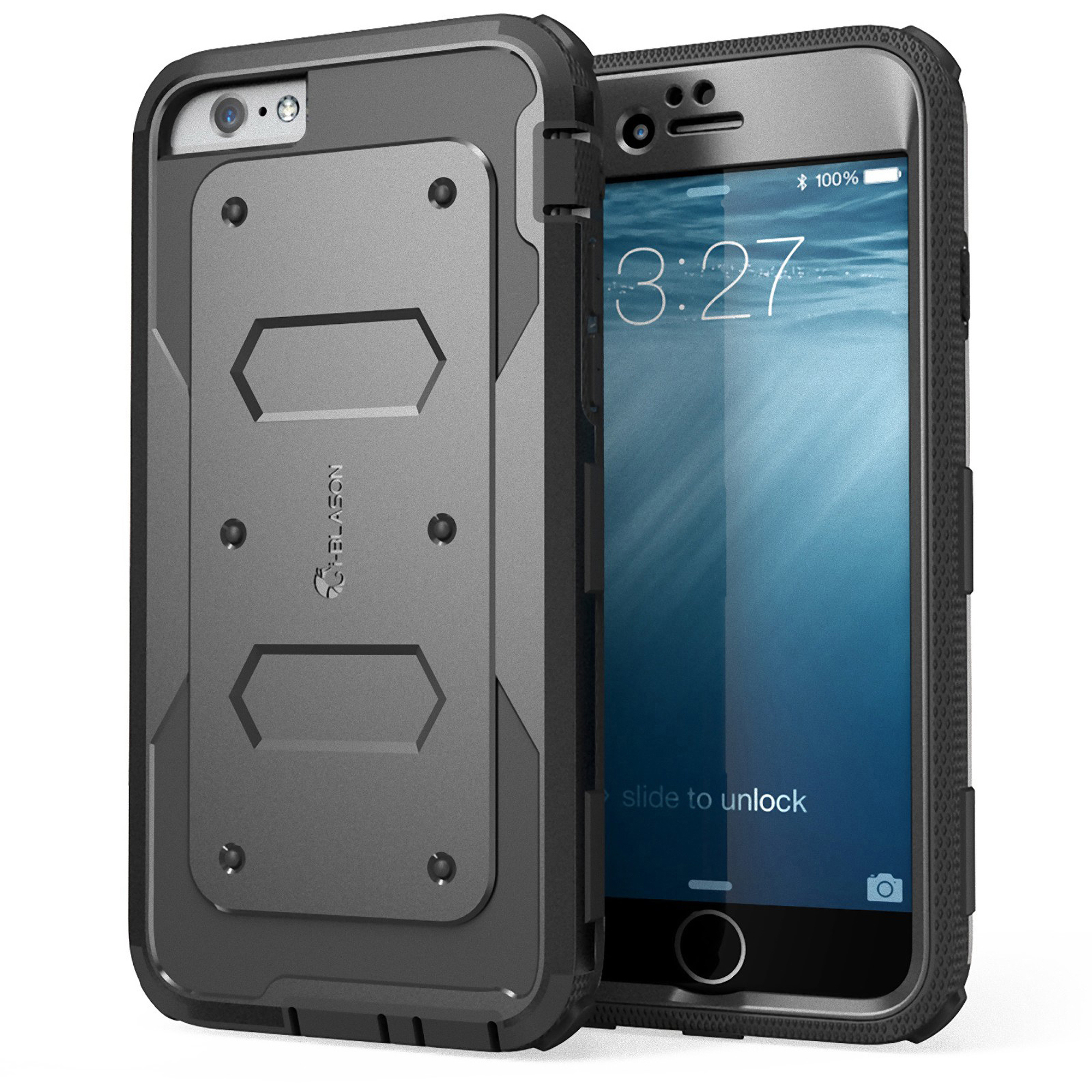 i-Blason Armorbox Series Dual-Layer Full Body Protection Case with Screen Protector for Apple iPhone 6 Plus