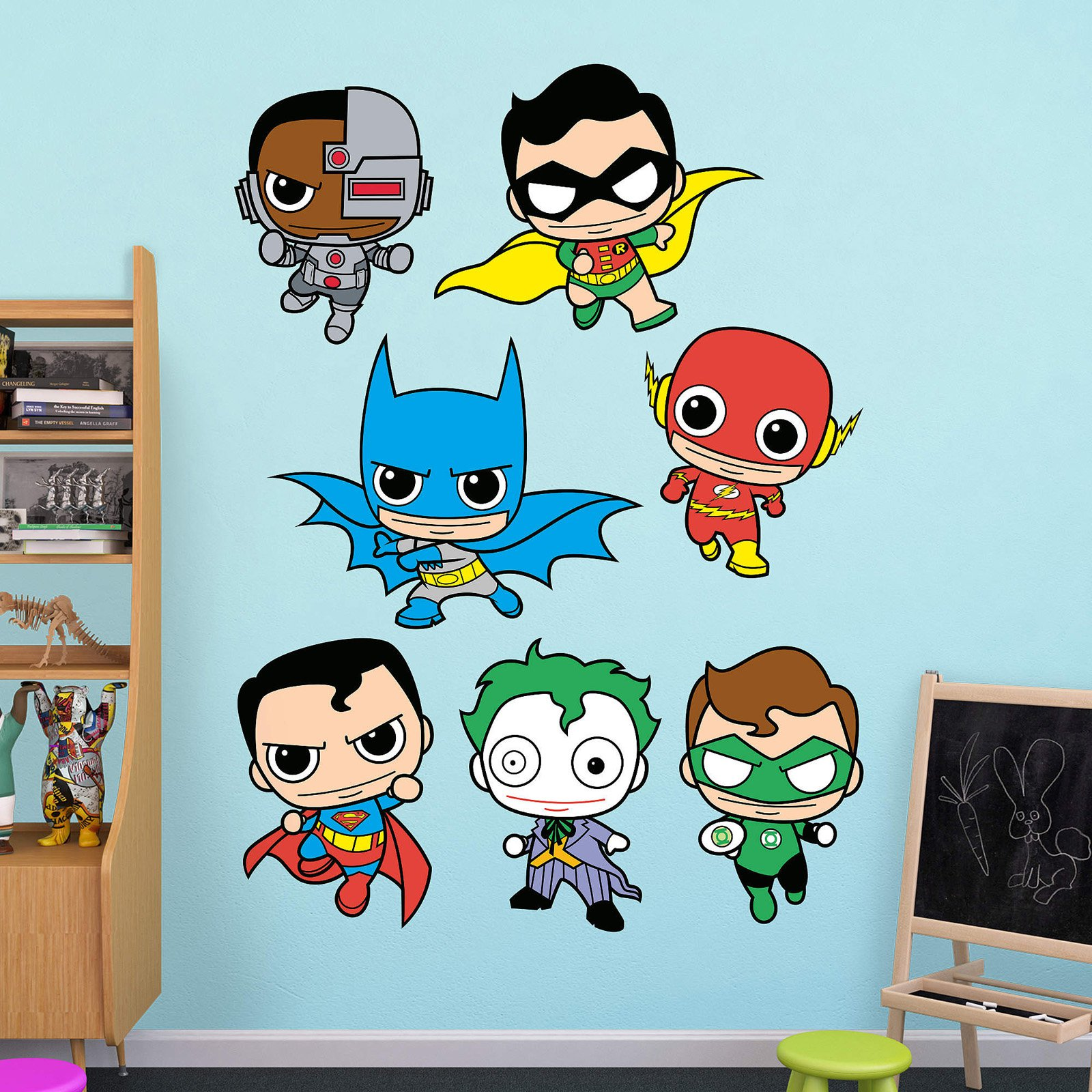 Fathead Justice League DC Comics Kids Wall Decal Collection