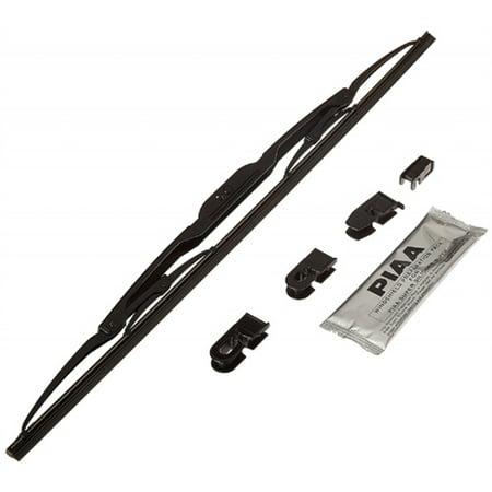 PIAA Windshield Wiper Blade; Super Silicone; 20 Inch; Single Blade; Without Spoiler; Black; All Season (Piaa Super Silicone Carbon Fiber)